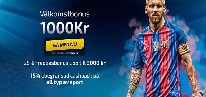 Nya spelbolag med 1x2 betting i Sverige