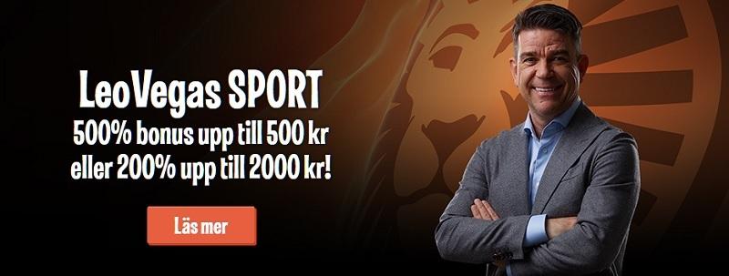 Spela 1X2 odds på Fotbolls VM hos Leo Vegas 200% i bonus